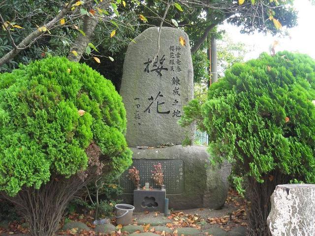 桜花記念碑