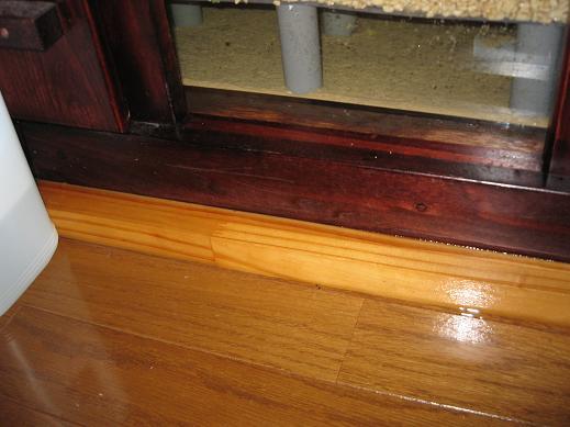 水浸しの床(2)
